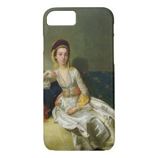 Nancy Parsons in Turkish Dress, c.1771 (oil on cop iPhone 7 Case