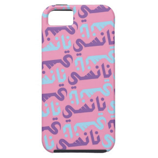nancy pink and purple iPhone 5 cover