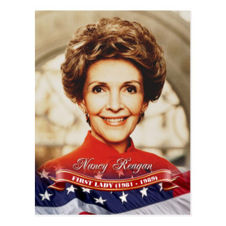 Nancy Reagan, First Lady of the U.S. Postcard