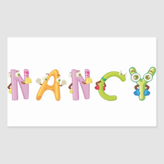 Nancy Sticker