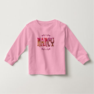 Nancy Toddler Long Sleeve T-shirt