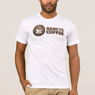 Nancy's Coffee mens t-shirt