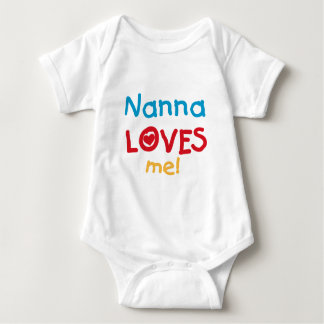 Nanna Loves Me T-shirts and Gifts