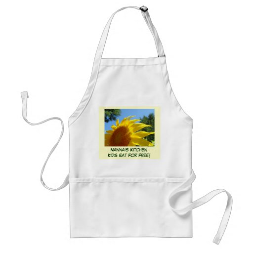 Nanna's Kitchen Kids Eat for Free! apron gifts