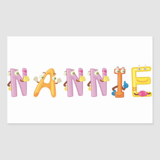 Nannie Sticker