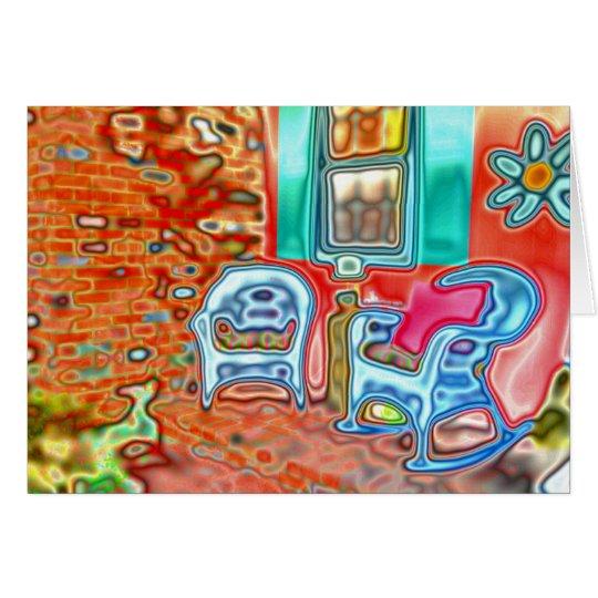 NANNIE'S PORCH - Magical Summertime Porch - Card