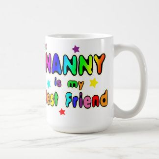 Nanny Best Friend Coffee Mug
