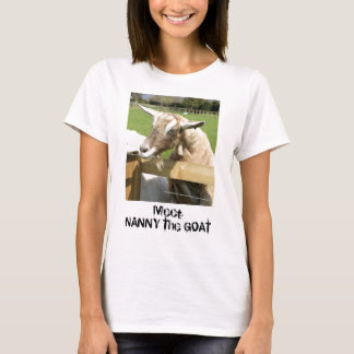 Nanny the Goat Woman's T-Shirt