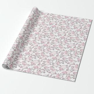 NannyPawsPattern Wrapping Paper