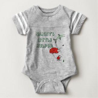 Nanny's little helper Lady bug cool custom shirt