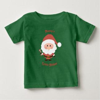 Nanny's Little Helper Vest Baby T-Shirt