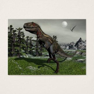 Nanotyrannus dinosaur - 3D render Business Card