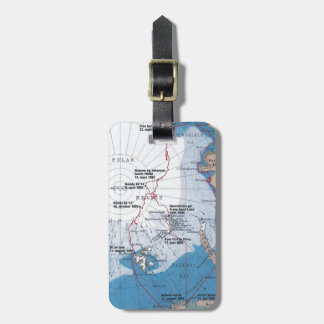 Nansen's Polar Voyages Luggage Tag