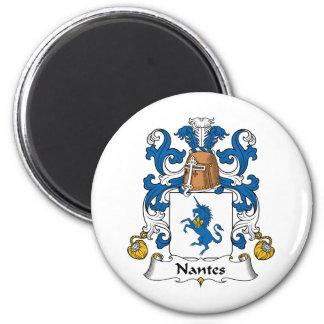 Nantes Family Crest Magnet