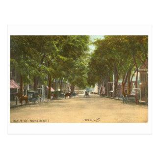 NANTUCKET - 1907 POSTCARD