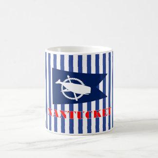 Nantucket Blue Striped Mug