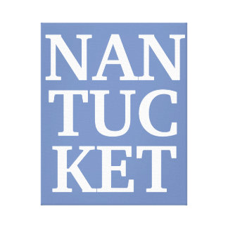 Nantucket canvas print