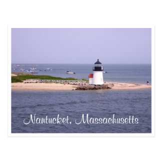 Nantucket - Cape Cod - Massachusetts Post Card