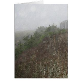 Nantucket Fog Card