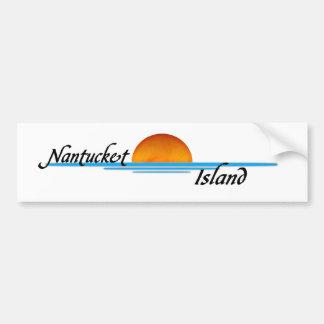 Nantucket Island Bumper Sticker