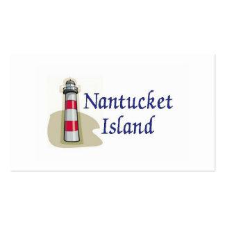 Nantucket Island Business Card Templates