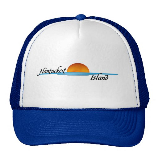 Nantucket Island Trucker Hats