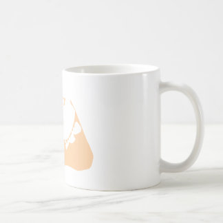 Nantucket Island in Sand Coffee Mug