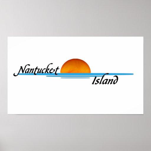 Nantucket Island Print