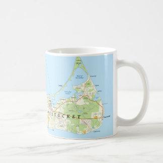 Nantucket Map Coffee Mug