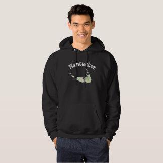 Nantucket map hoodie