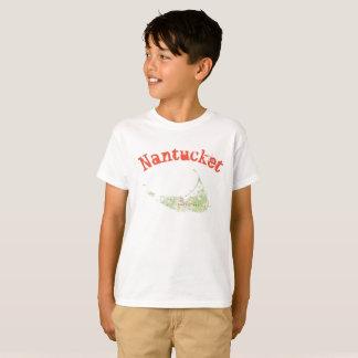 Nantucket map shirt for boys