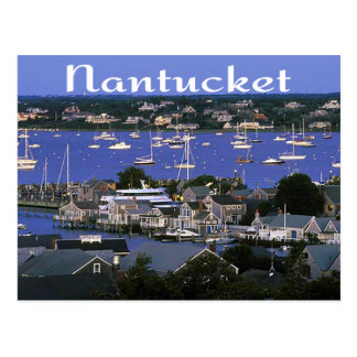 Nantucket Massachusetts Cape Cod Postcard