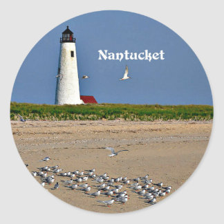 Nantucket, Massachusetts Classic Round Sticker