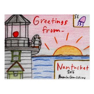 """Nantucket"" postcard"