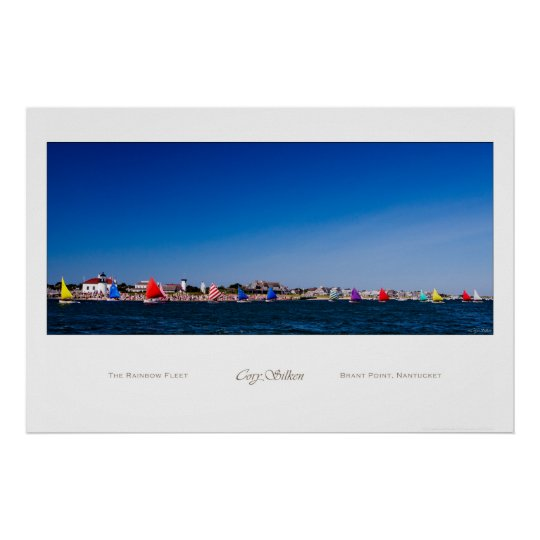Nantucket Rainbow Fleet poster