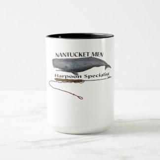 nantucket whale coffee mug
