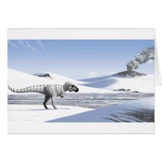 Nanuqsaurus Greeting Card (Blank Interior)