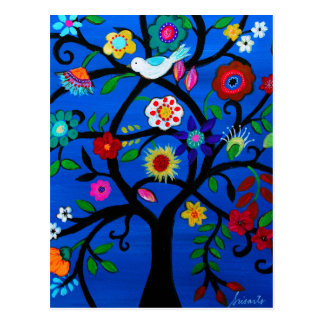 NAOMI'S TREE OF LIFE POSTCARD