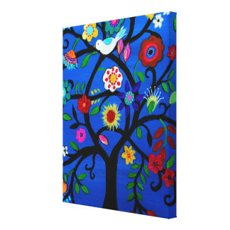 Naomi's Tree of Life Stretched Canvas Print