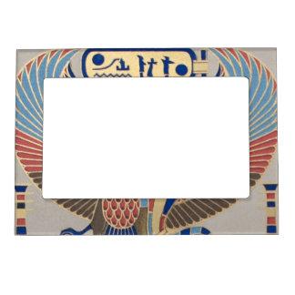 Naos Ramesses II Snake Bird Cartouche Egyptian Magnetic Frame
