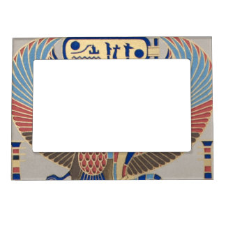 Naos Ramesses II Snake Bird Cartouche Egyptian Photo Frame Magnet
