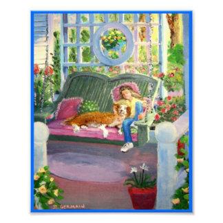 Nap on the Porch Photo Print