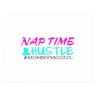 Nap Time and Hustle #MommyMogul Postcard