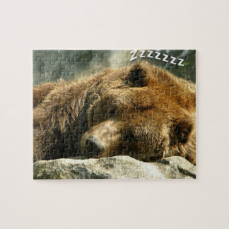 Nap Time Bear Puzzles