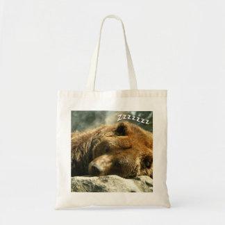 Nap Time Bear Tote Bag