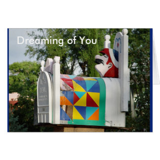 "NAP TIME, ""Dreaming of You"" card"