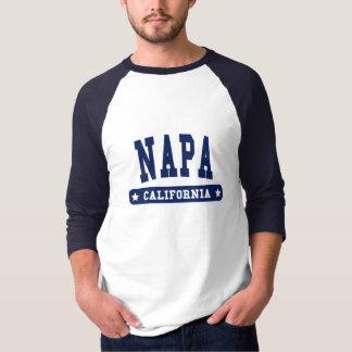 Napa California College Style tee shirts