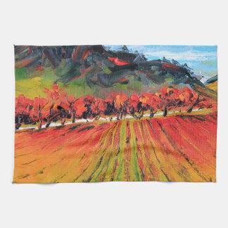 Napa Valley by Lisa Elley Tea Towel