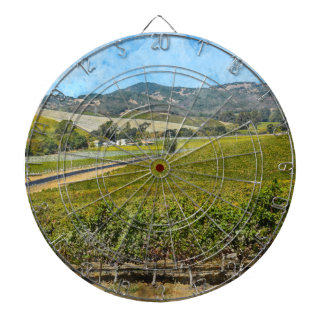 Napa Valley California Dartboard