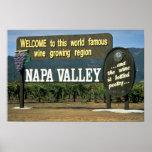 Napa Valley, California, USA Posters